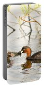Little Grebe Tachybaptus Ruficollis Portable Battery Charger