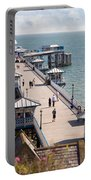 Llandudno Pier North Wales Uk Portable Battery Charger