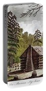 Log Cabin, 1826 Portable Battery Charger