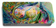 Longing For Chagall Portable Battery Charger