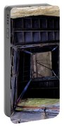 Lookout Tower On A Civil War Battlefield In Antietam Creek Maryl Portable Battery Charger