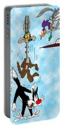 Looney Tunes Portable Battery Charger