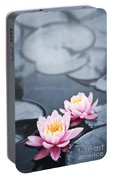 Lotus Blossoms Portable Battery Charger