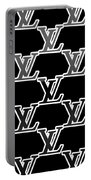 Louis Vuitton Black Portable Battery Charger