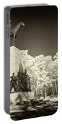 Louisiana Monument At Gettysburg Portable Battery Charger