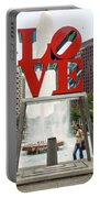 Love Sculpture Portable Battery Charger