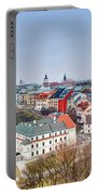 Lublin Old Town Panorama Poland Portable Battery Charger