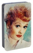 Lucille Ball, Vintage Actress Portable Battery Charger