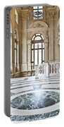 Luxury Interior In Palazzo Madama, Turin, Italy Portable Battery Charger