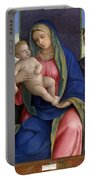 Madonna And Child With Saints Portable Battery Charger