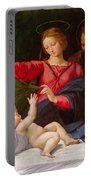 Madonna Of Loreto Portable Battery Charger