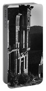 Main Street Ghost Town Elkhorn Montana 1971 Portable Battery Charger