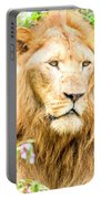 Majestic Lion Portable Battery Charger