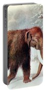 Mammoth, Cenozoic Mammal Portable Battery Charger