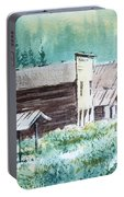 Mammoth Ghost Town Montana Portable Battery Charger