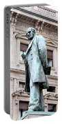 Manzoni Statue Portable Battery Charger