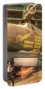 Martin B-26g, Marauder, Shootin In Portable Battery Charger