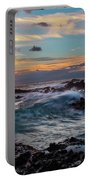 Maui Sunset At Secret Beach Portable Battery Charger by John Hight