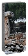 Megalithic Taula In Binisafua Menorca Bronze Age Portable Battery Charger