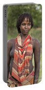member of the Bena Tribe, Omo Valley Portable Battery Charger