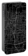 Memphis Tennessee Usa Dark Map Portable Battery Charger