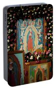 Mexico Our Lady Of Guadalupe Pilgrimage Portable Battery Charger