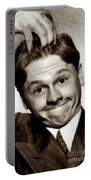 Mickey Rooney, Vintage Actor Portable Battery Charger