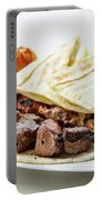 Middle Eastern Food Mixed Bbq Barbecue Grilled Meat Set Meal Portable Battery Charger