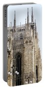 Milan Cathedra, Domm De Milan Is The Cathedral Church, Italy Portable Battery Charger