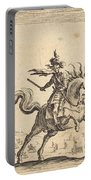 Military Commander On Horseback Portable Battery Charger