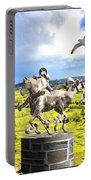 Modern Horse Statue Portable Battery Charger