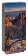 Morning At Colorado National Monument Portable Battery Charger