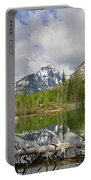 Morning Reflection On String Lake Portable Battery Charger