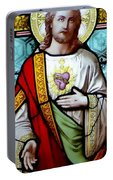 Most Sacred Heart Of Jesus Portable Battery Charger