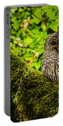 Muir Woods Owl Portable Battery Charger