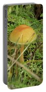 Mushroom And Moss Portable Battery Charger