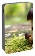 Mushroom Cluster Portable Battery Charger