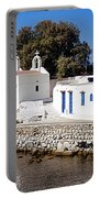 Mykonos Church Portable Battery Charger
