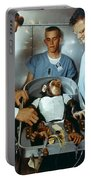 Nasa Chimpanzee, 1961 Portable Battery Charger
