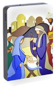 Nativity Scene Portable Battery Charger