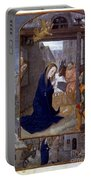 Nativity With Shepherds Portable Battery Charger