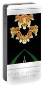 Nature In Abstract Orchidaceae Portable Battery Charger