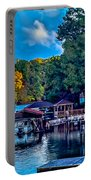 Nature Landscapes Around Lake Wylie South Carolina Portable Battery Charger