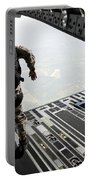Navy Seals Jump From The Ramp Of A C-17 Portable Battery Charger
