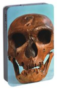Neanderthal Skull Portable Battery Charger