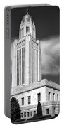 Nebraska Capitol Building Portable Battery Charger