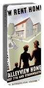 New Deal: Wpa Poster Portable Battery Charger