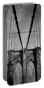 New York City - Brooklyn Bridge Portable Battery Charger