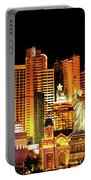 New York New York Hotel Portable Battery Charger