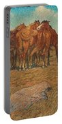 Nils Kreuger,  A Drove Of Horses Portable Battery Charger